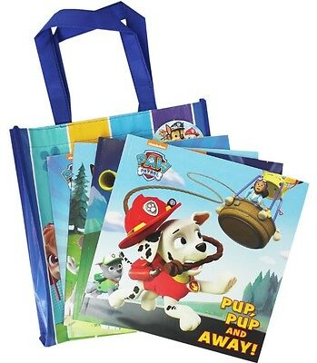 NEW in CANVAS BAG - 4 x PAW PATROL story books Chase Marshall Rubble