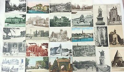 Lot 90 cpa cartes postales anciennes  57 Moselle Metz