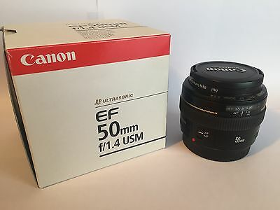 Objectif Canon EF 50 mm 1.4