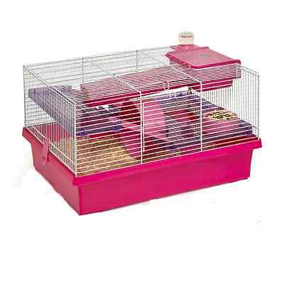 Rosewood Small Animal Pico Hamster, Mouse or Gerbil Cage Pink