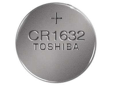 CR1632 Toshiba 3 Volt Lithium Coin Cell Battery (On a Card)