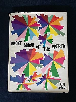 1974 Annual Magnus Organ Corp. Great Music Of The World Book