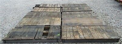 10 Tops Vintage Factory Cart Industrial Age Wood Coffee Table Wheel Railroad a