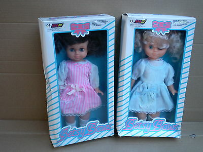 Set of Two Vintage Betsy Dolls 11'' 28cm Boxed