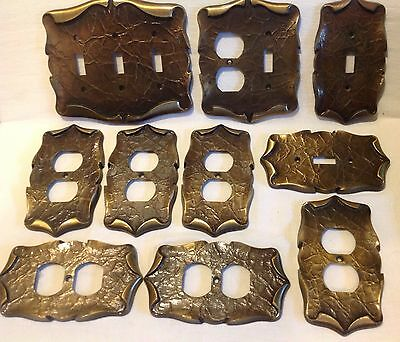 10 VTG Switch Plates & Outlet Covers  American Tack Amertac Vintage TEN