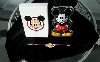 Vintage Disney TIME WORKS Mickey Mouse Watch
