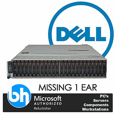 Dell PowerEdge C2100 6GBs iSCSI 2x Quad Core E5620 48GB RAM Megaraid SAS & SATA