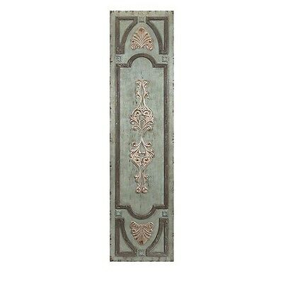Antique Style Rustic Distressed  Hand Painted Wall/Door Panel,19.75'' X 78.5''H.