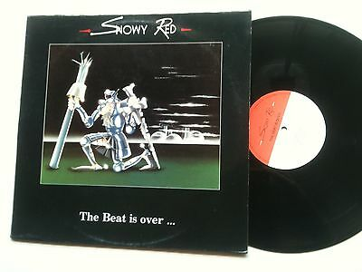 """EBM - Snowy Red - The Beat Is Over A4 A Picture 12"""" VINYL 1989 Antler Records"""