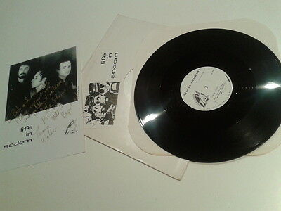 """Industrial Goth Rock - In Sodom - The Stains 12"""" VINYL / VINILO"""