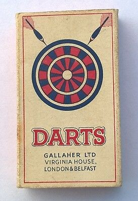 Darts - Cigarette packet - 1930s