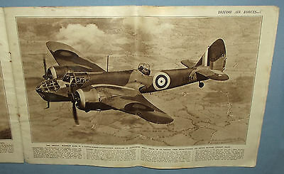 WW2 British Airforces 1941 Large Aircraft Photo Book