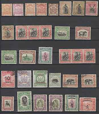 Stamps North Borneo Mint And Used 32Pc Lot