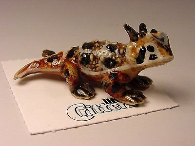 "Little Critterz - LC314 ""Rip"" Horned Toad"