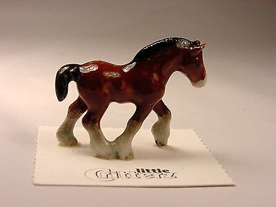 """Little Critterz - LC113 """"Big Hoof"""" Clydesdale"""