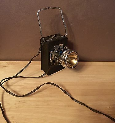 Vintage WINCHESTER Twin Service Headlight Lantern Unit Cell Battery Type - CLEAN