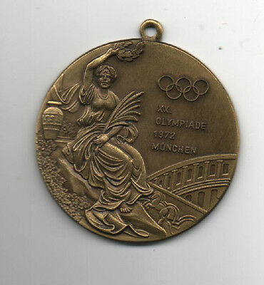 Orig.remembrance medal   Olympic Games MÜNCHEN 1972 - Special Edt  !!  VERY RARE