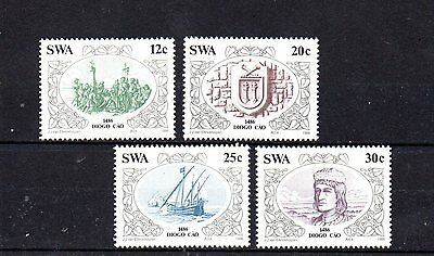 set of 4 mint stamps from south west africa