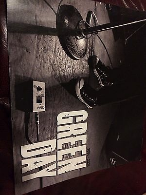 Green Day American Idiot 2004-2005 U.K. Tour Programme
