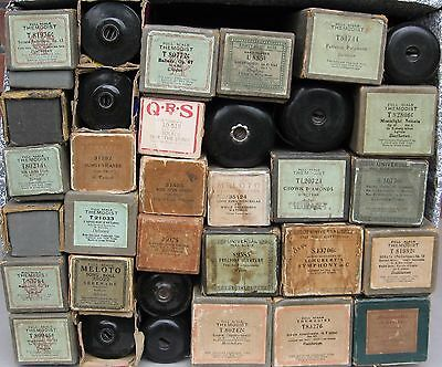 33  X Vintage Pianola Piano  rolls  --- Full scale 88 note type  --  Job lot