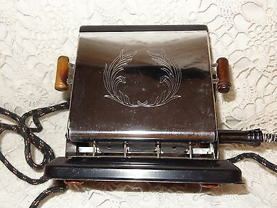 Vintage Electric Toaster, DOMINION ELECTRICAL MFG., INC., Works, VGC