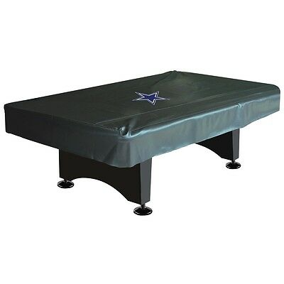 NFL Dallas Cowboys 8 ft  Fitted Leatherette Pool Table Cover w/ FREE Shipping