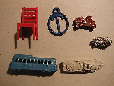 Collectible Vintage Assortment of Cracker Jack Plastic Toys