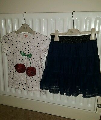 Girls bluezoo 2 piece outfit age 5-6 years