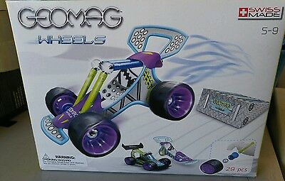 *NEW* Geomag Wheels - Race Set - 29 parts (by Geomag) 00702 building create fun