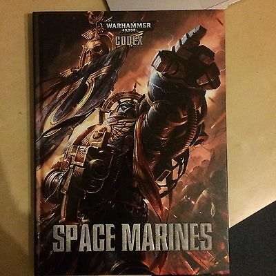 Space Marine Codex Warhammer 40k