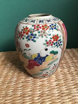 CHINESE PORCELAIN POT 19/20th century
