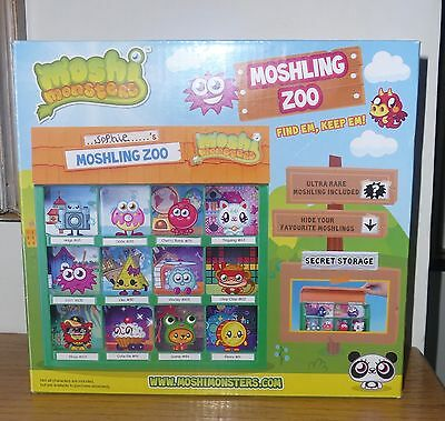 Boxed new Moshi Monsters Moshling Zoo