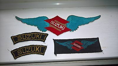 motor bike patches/badges