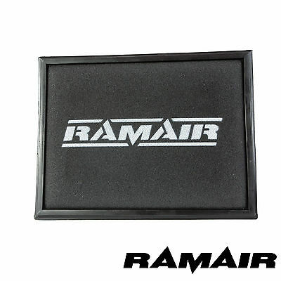 Ramair Performance Replacement Foam Panel Air Filter for Vauxhall Astra G / H