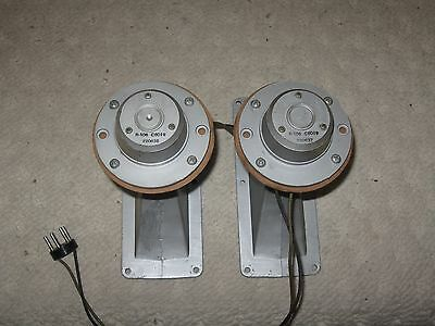 Pair Jensen RP-103 Horns With R-106 Drivers In Ex Cond!!!