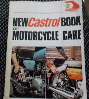 New CASTROL BOOK of MOTORCYCLE CARE 1979