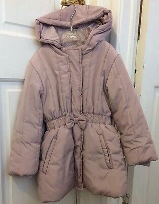 Girls Marks And Spencer Coat Age 4-5 Years