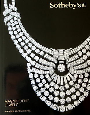 Sotheby's  Magnificent Jewels New York 12/9/15  Sale Code 9440