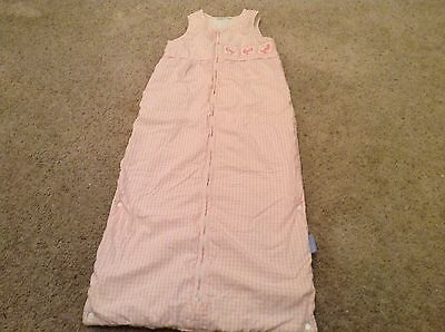 JoJo Maman Bebe girls sleeping bag 2.5 Tog 18 mths - 4 years
