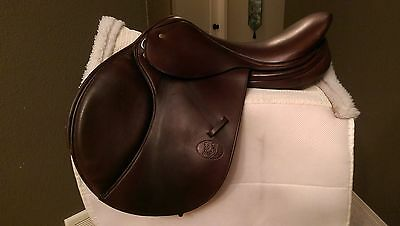 Schleese Pouvoir Jumping Saddle With Brand New Accessories