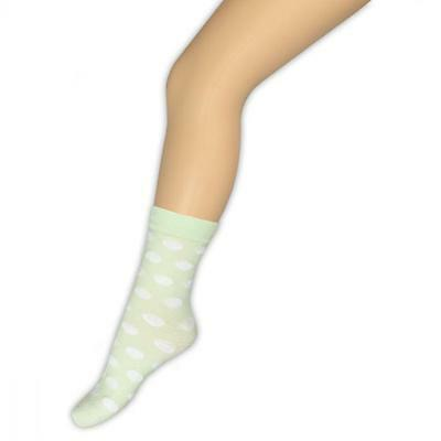 Bonnie Doon Eyecatcher Sommer Socken Dezentes Mint Mit Weißen Dots Must Have