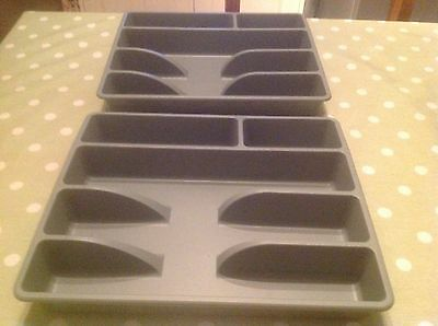 Pair Of Cutlery Trays By Ikea