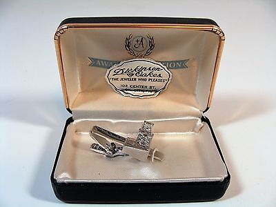 Vintage Anson Oil Rig Drilling Tie Clip New! Advertising