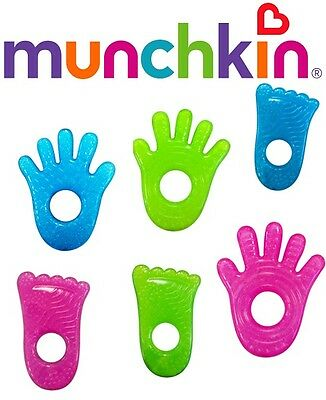 Munchkin Fun Ice Chewy Teethers, Baby Teething Toy, Baby Ring Teether