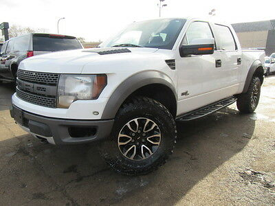 2012 Ford F-150 SVT Raptor Crew Cab Pickup 4-Door F150 SVT Raptor Super Crew 87k TX Hwy Miles Ex Fed Govt Owned Well Maintained