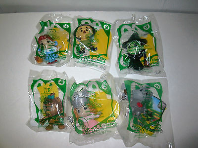 2013 Wizard of Oz McDonalds 75th Anniversary 6 Toys Complete Set New