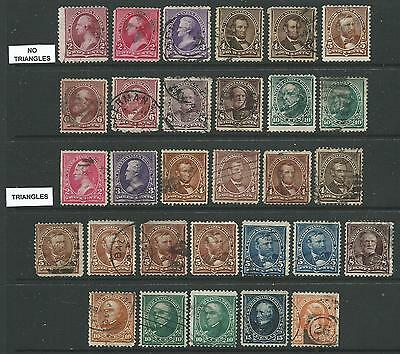Usa ~ 1890 To 1903 - Collection Clearance Mostly Vfu Definitives - No Reserve