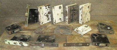 14 Locks Rim Night Latch Dead Bolt Architectural Salvage Door Hardware Mortise a