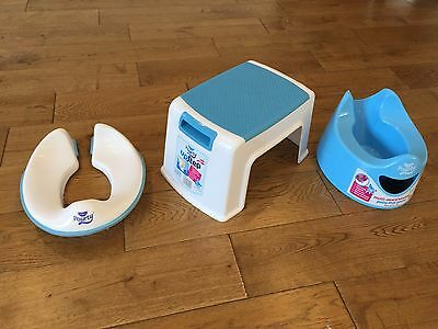 Pourty Set - Potty, Toilet Seat And Step