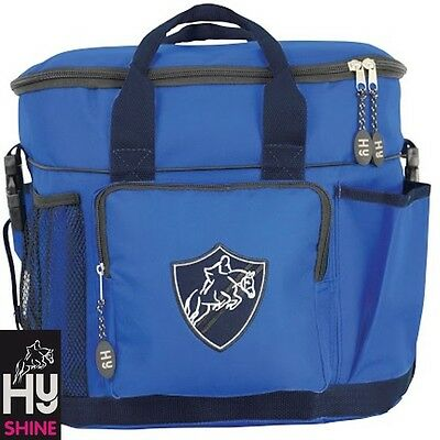 HySHINE Pro Grooming Bag – Brilliant Blue & Navy –Handy Bag For Competition Days